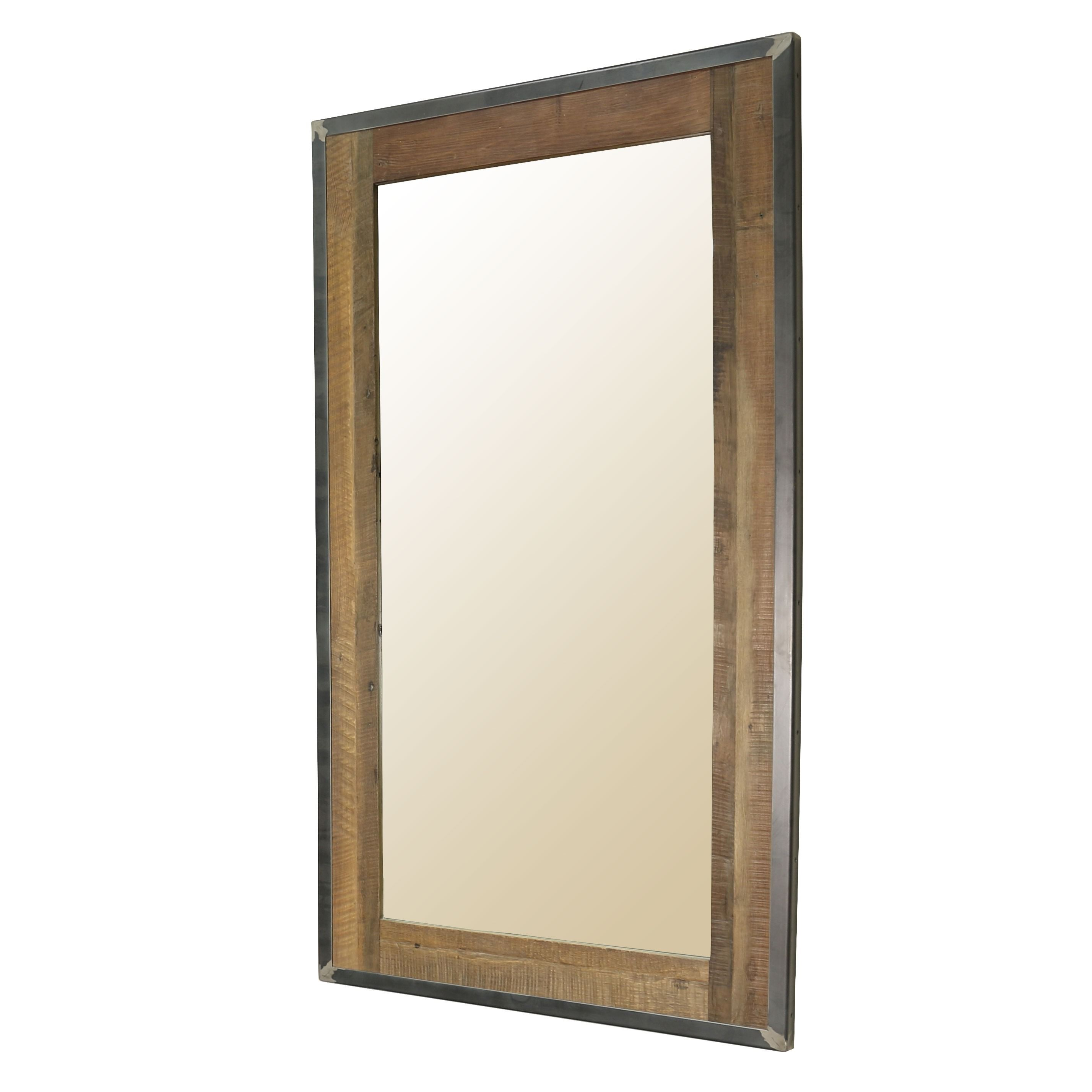 The Comanche Full Length Mirror Features A Welded Iron Frame French