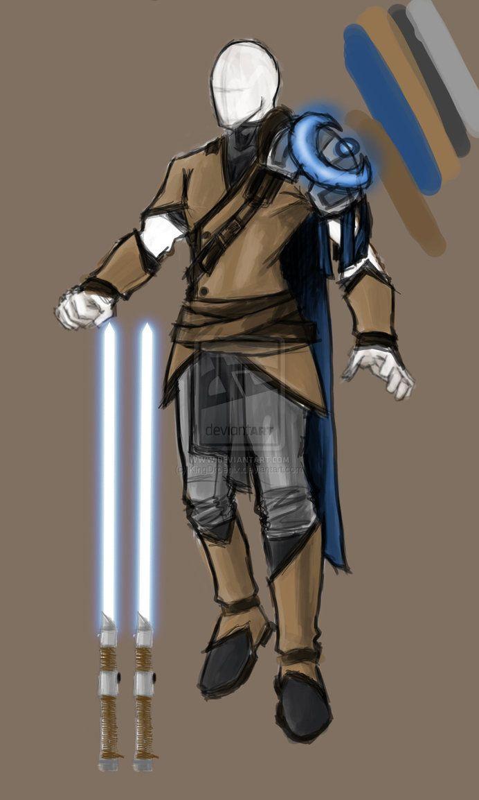 swtor jedi sentinel concept by KingDroenix on DeviantArt