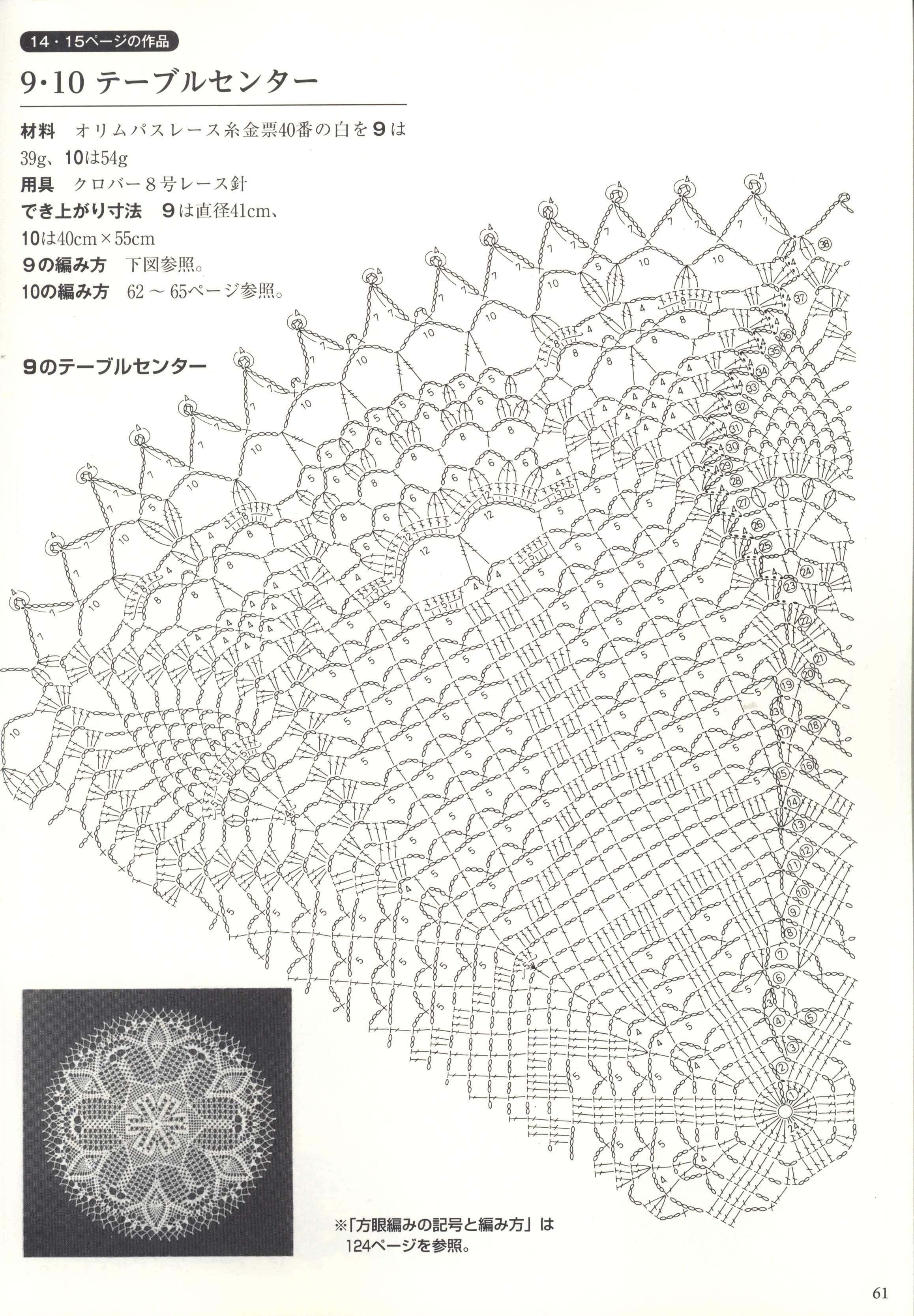 Pin By Josiane On Crochet Napperons