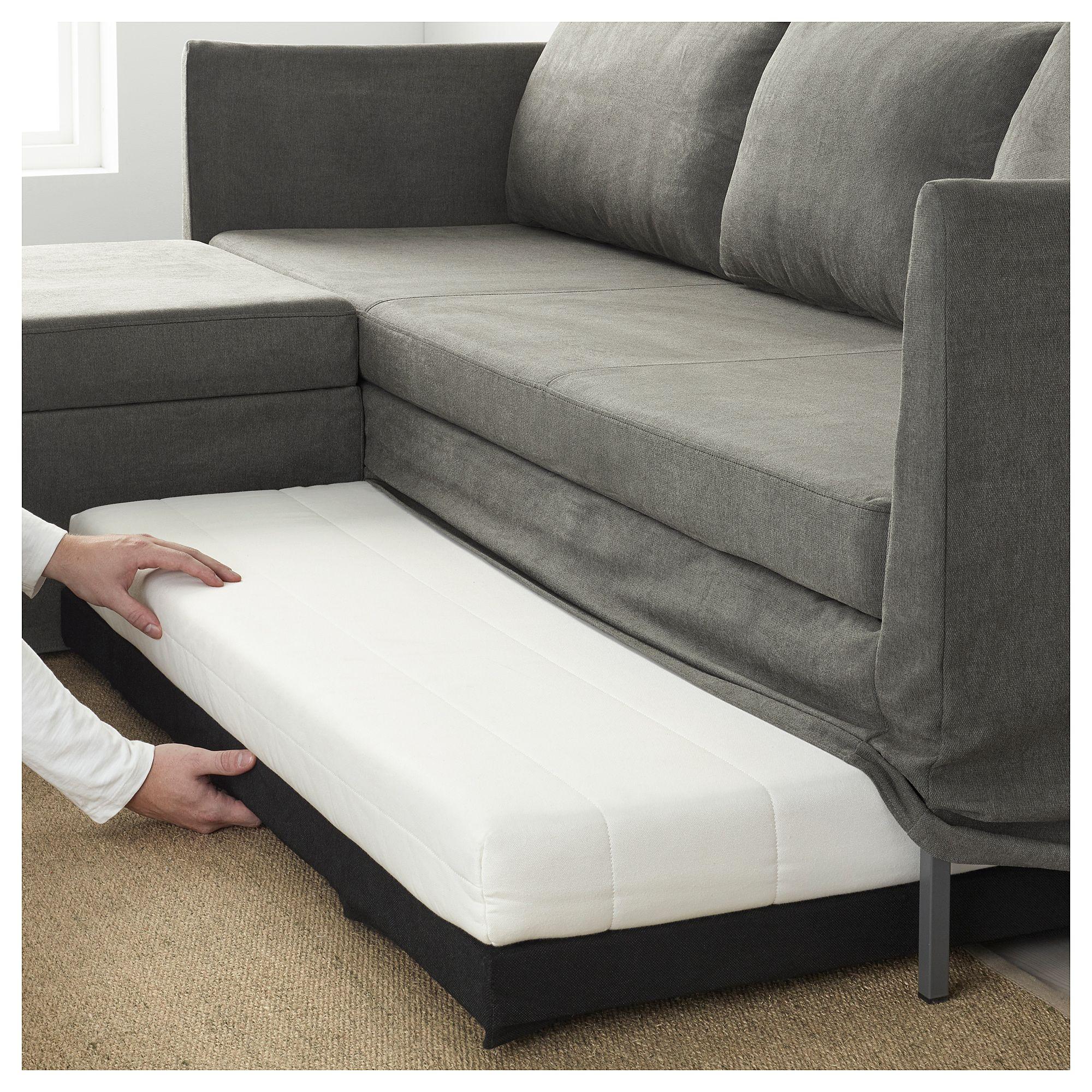 Corner Sofa Bed Green: BRÅTHULT Corner Sofa-bed Borred Grey-green - IKEA