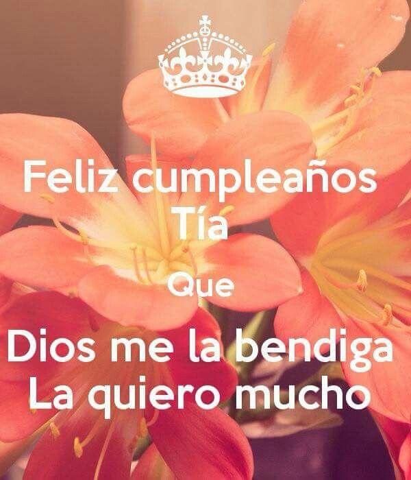 Feliz Cumpleaños Tía Feliz Cumpleaños Targetas Happy Birthday