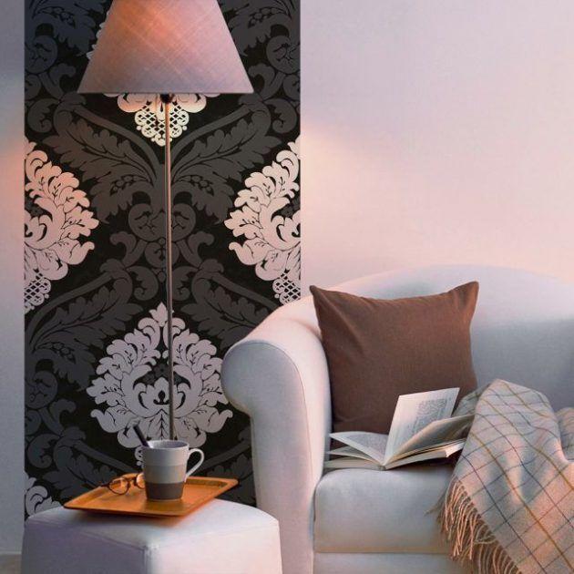 Wandgestaltung im Wohnzimmer u2013 Farbe bekennen kann einfach sein - wandgestaltung mit farbe wohnzimmer
