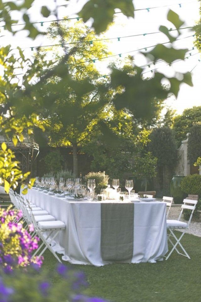 Déco garden-party et réception en plein air- 50 idées créatives