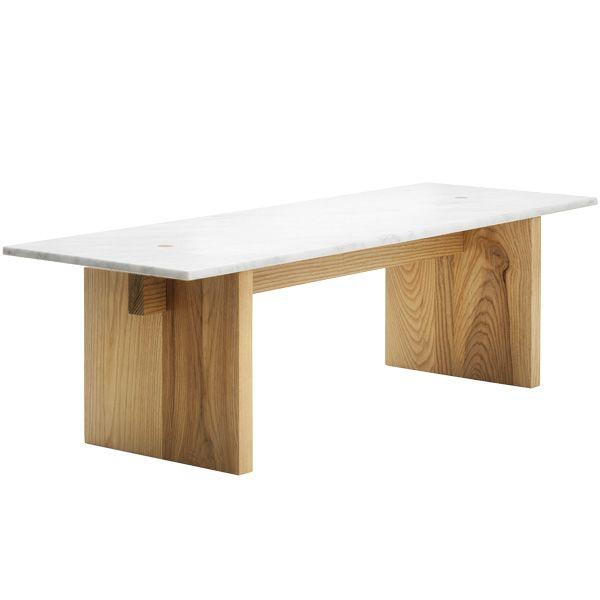 Solid Table Scandinavian Furniture Design Minimalist Coffee