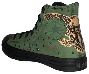43a34d4d48f4 Limited Edition Sailor Jerry Converse in 2019