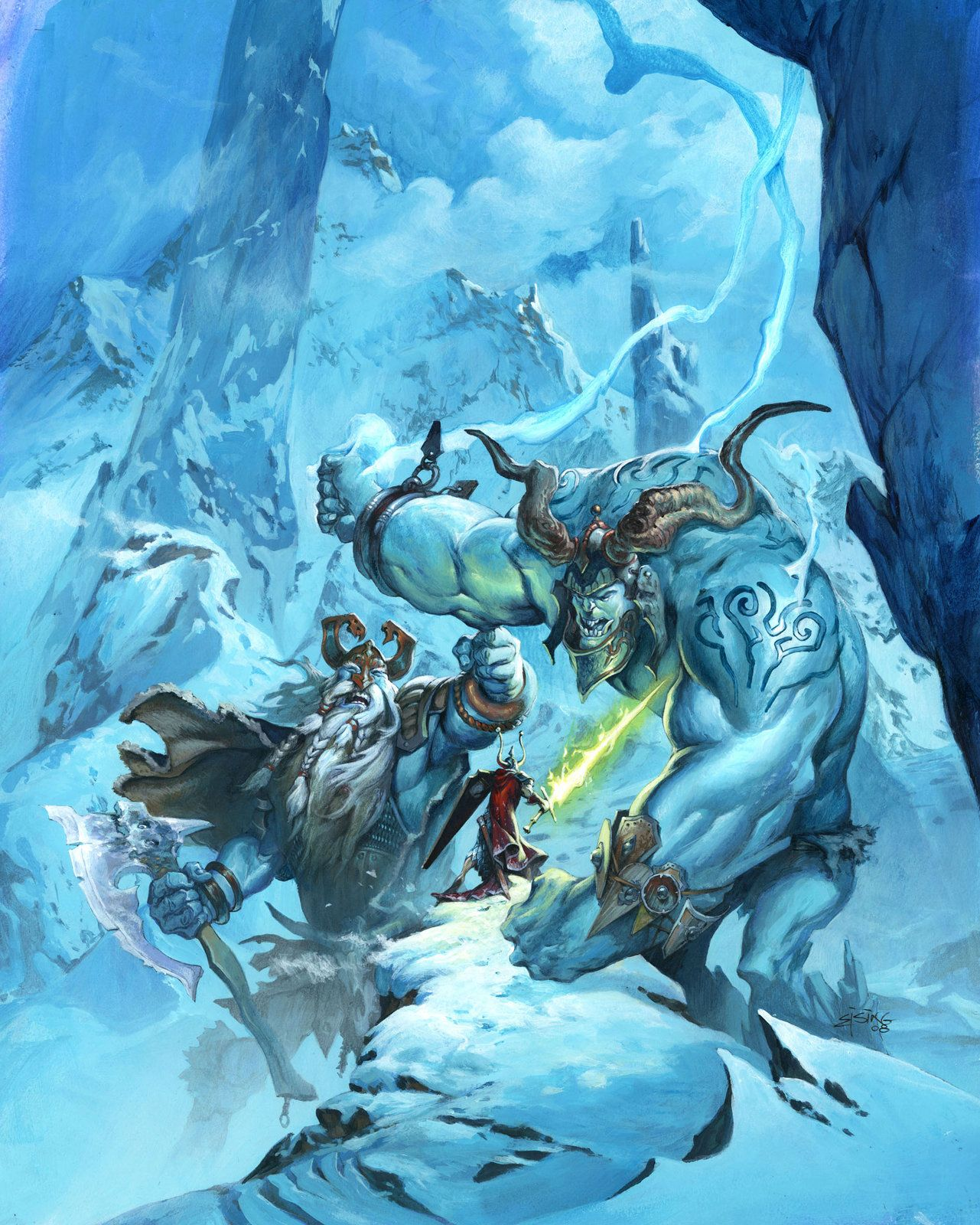 frost giants, Jesper Ejsing on ArtStation at https://www.artstation.com/artwork/frost-giants