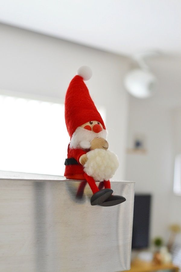 * ノルディカニッセ の 置物でクリスマスディスプレイ * めがねとかもめと北欧暮らし