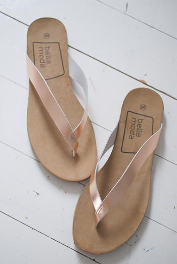 185ec5d734e8 BELLA MODA - SANDAL - ROSE Flat Sandals