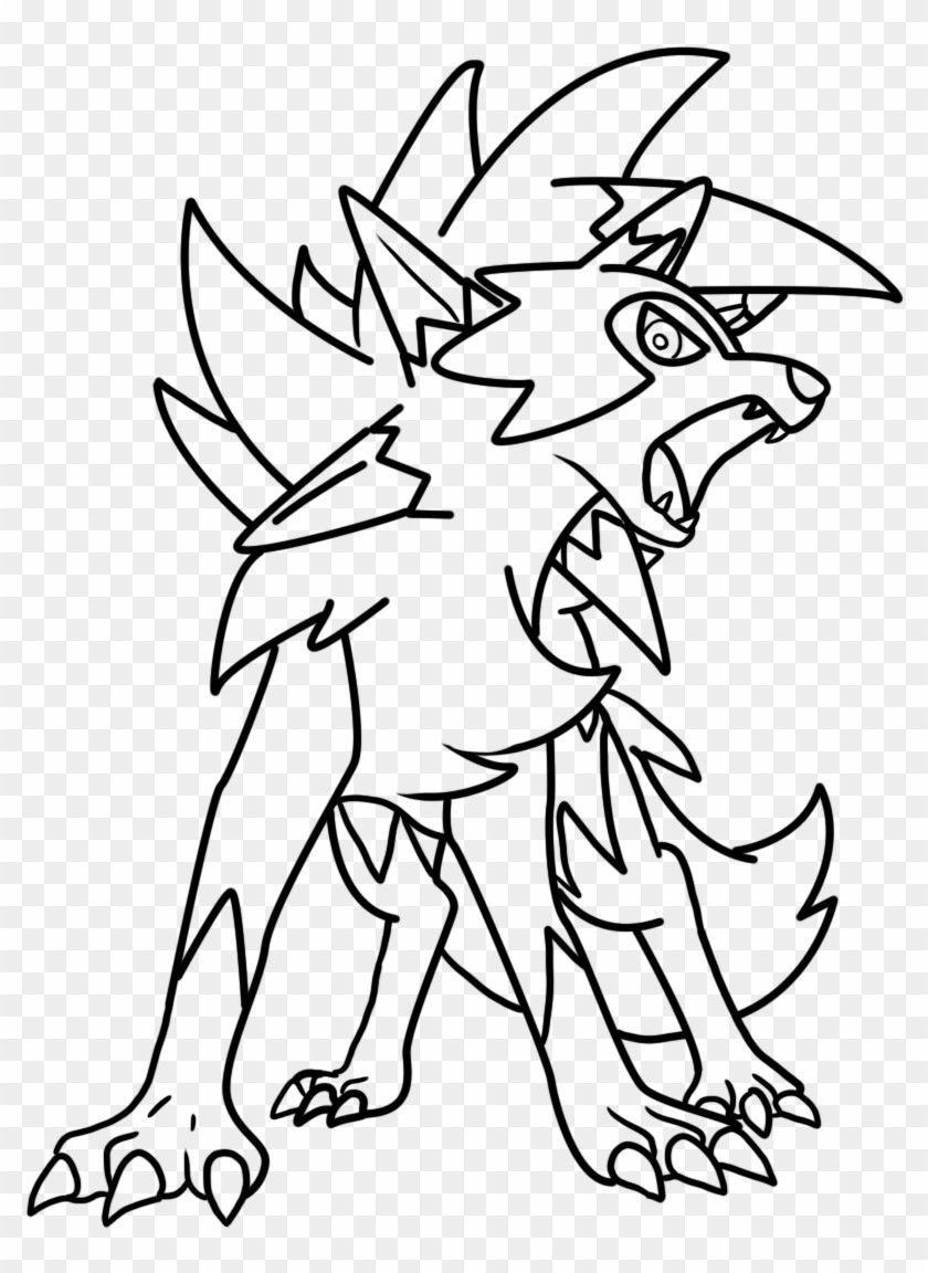 Lycanroc Pokemon Coloring Page Youngandtae Com Pokemon Coloring Lego Coloring Pages Pokemon Coloring Pages