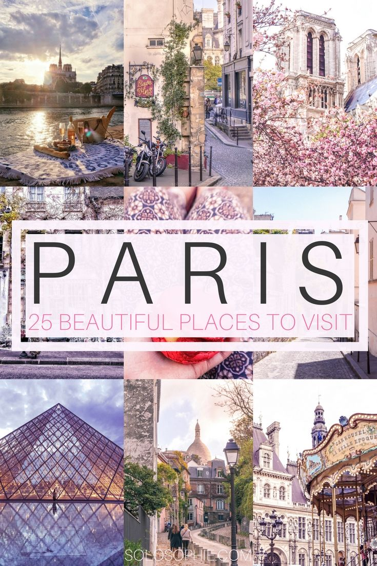 25 Breathtakingly Beautiful Places to Visit in Paris #beautifulplaces