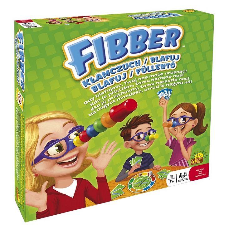 Gra Fibber Klamczuch Gra Familijna Cobi 7094685779 Oficjalne Archiwum Allegro Kids Lying Star Wars Awesome Kids