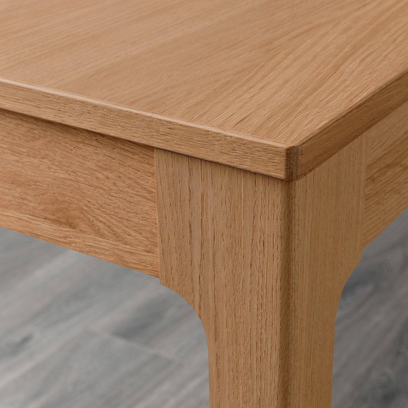 Ekedalen Extendable Table Oak 120 180x80 Cm In 2020 Ausziehtisch Ausziehbarer Tisch Stuhl Eiche