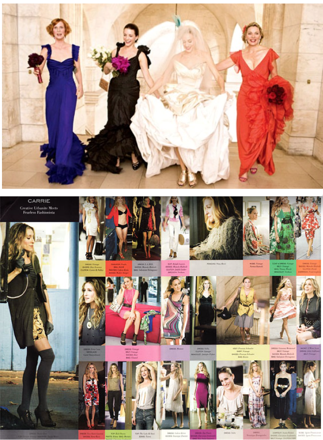 Love, love, LOVE the bridesmaids dresses, not to mention Vivienne Westwood!!