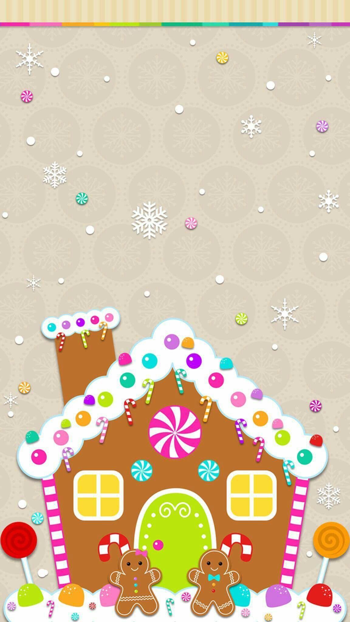 Kawaii Christmas Iphone Wallpaper   Reviewwalls.co