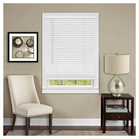 Cordless Deluxe Sundown 1 Room Darkening Window Mini Blind Alabaster 23 X 64 Achim Target Vinyl Blinds Mini Blinds Blinds