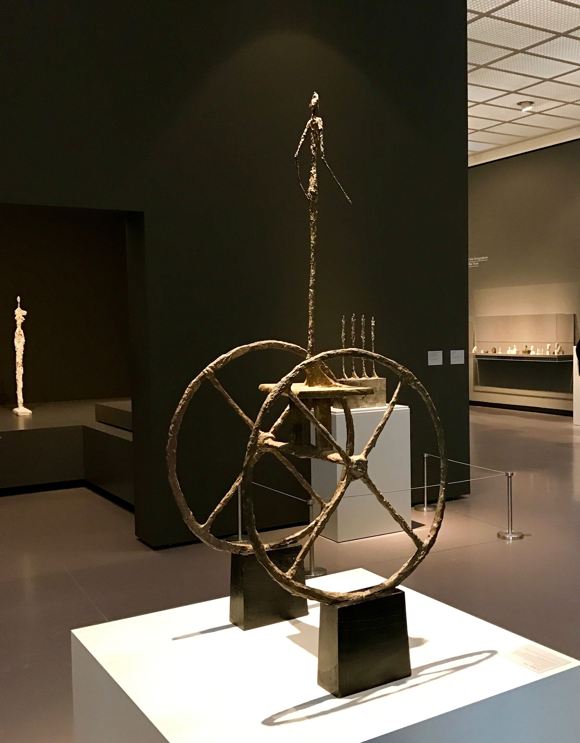 Alberto Giacometti Beyond Bronze At The Kunst Museum Zurich 28 October 2016 15 January 2017 Worth The Detour