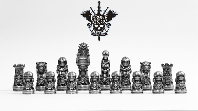 I Have Seen A Lot Of 3d Printed Chess Sets In My Day It Seems To Be A Project That Just Cries Out To 3d Print Enthusiasts Alm Medieval Chess Chess