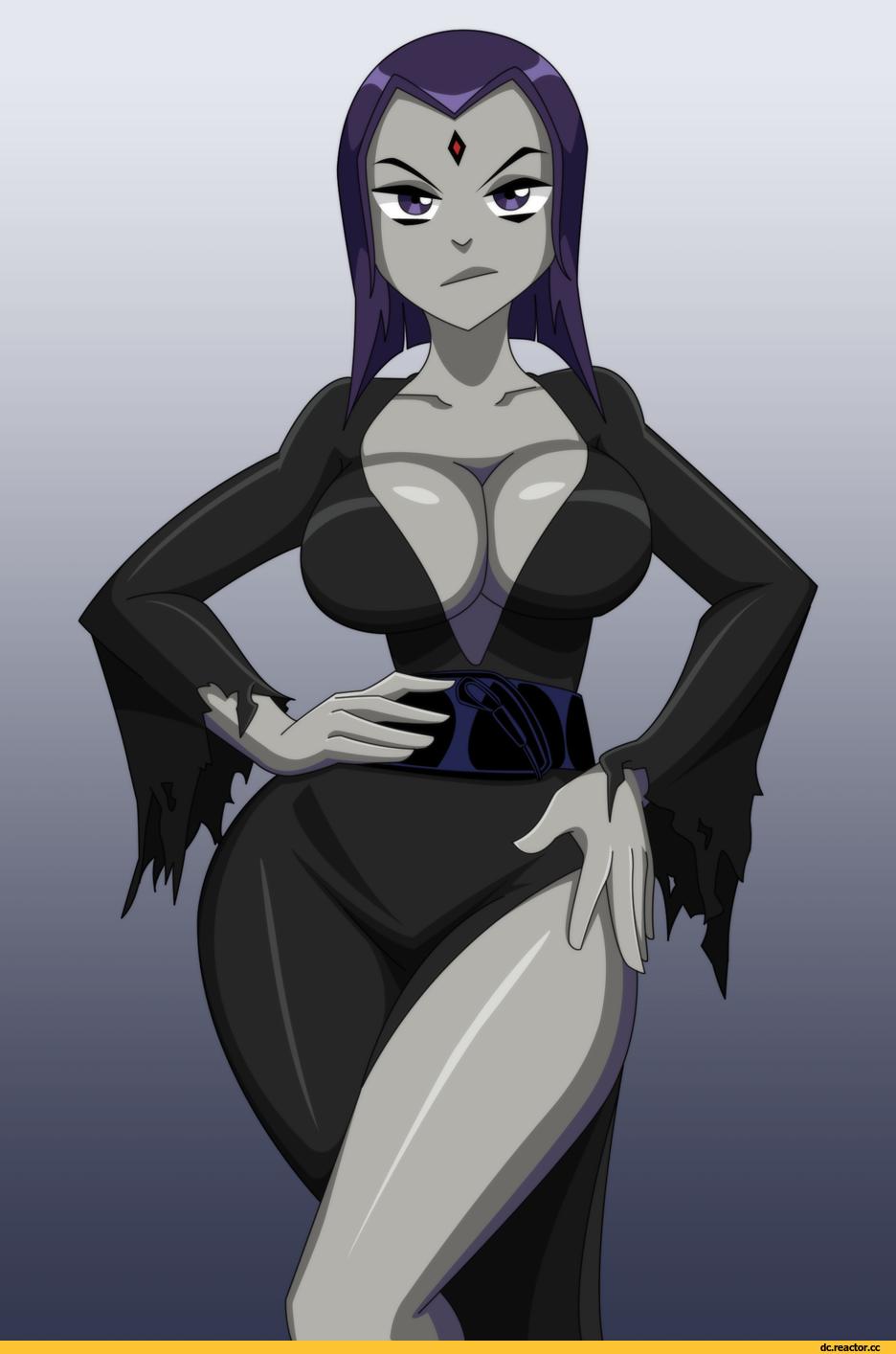 Titans raven erotica — 1
