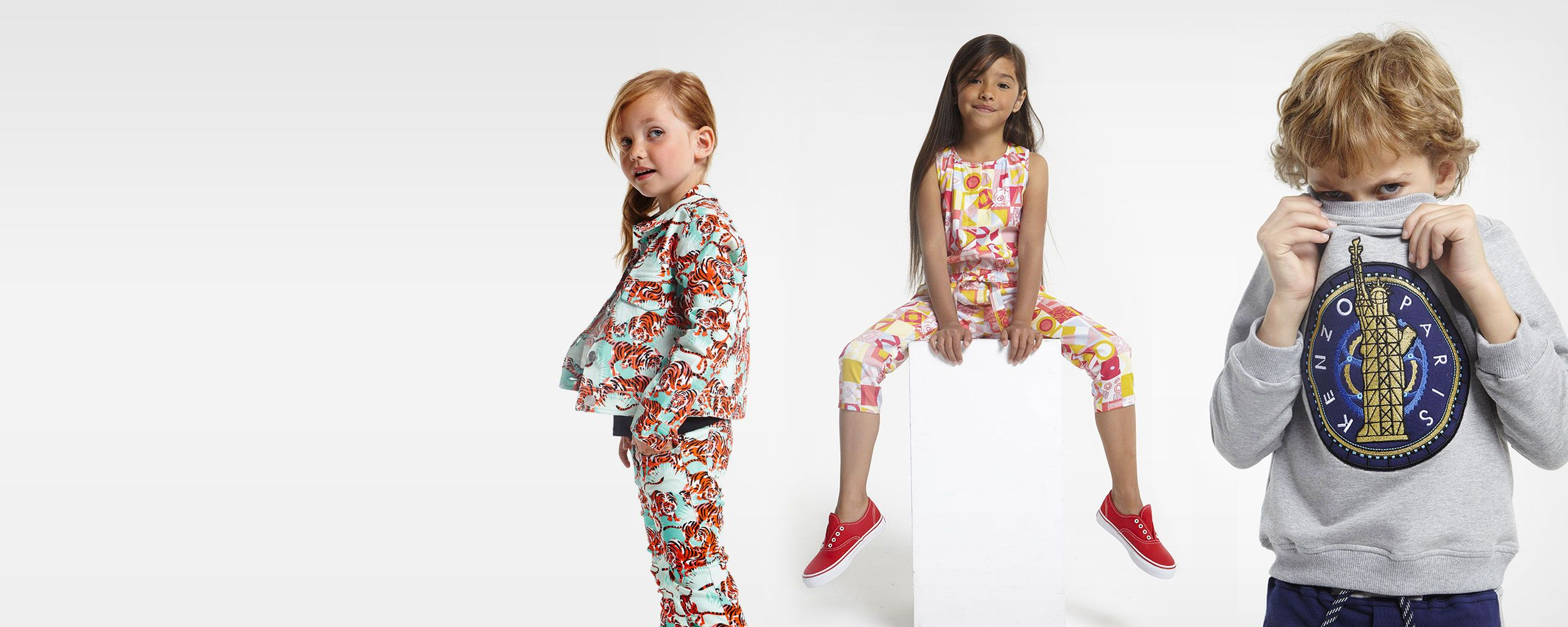 Kenzo Kids Spring Summer Collection 2016 babies