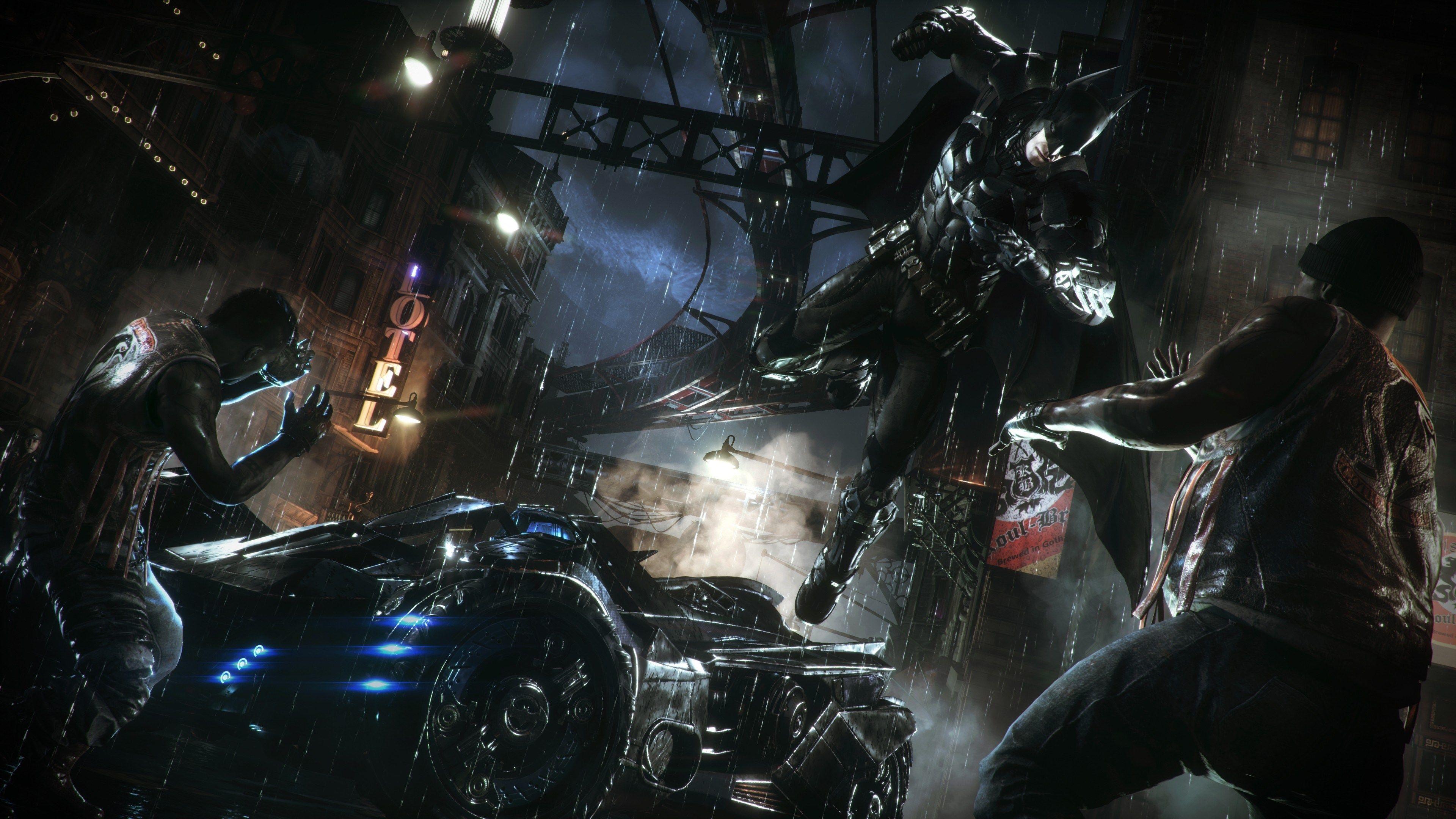 4k Batman Arkham Knight Hd Wallpaper 3840x2160 Betmen