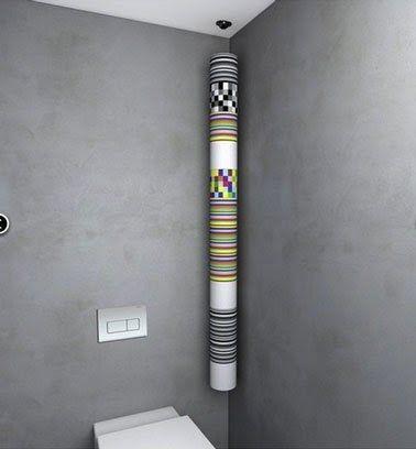 Un Derouleur Papier Toilette Original Ca Fini La Deco Toilette Suspendu Derouleur Papier Toilette Papier Toilette