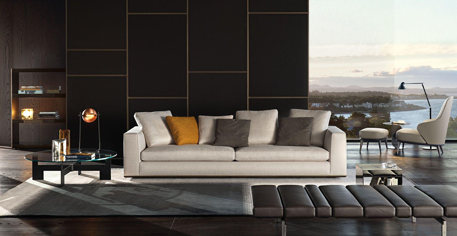 Powell seating system Rodolfo Dordoni design minotti furniture