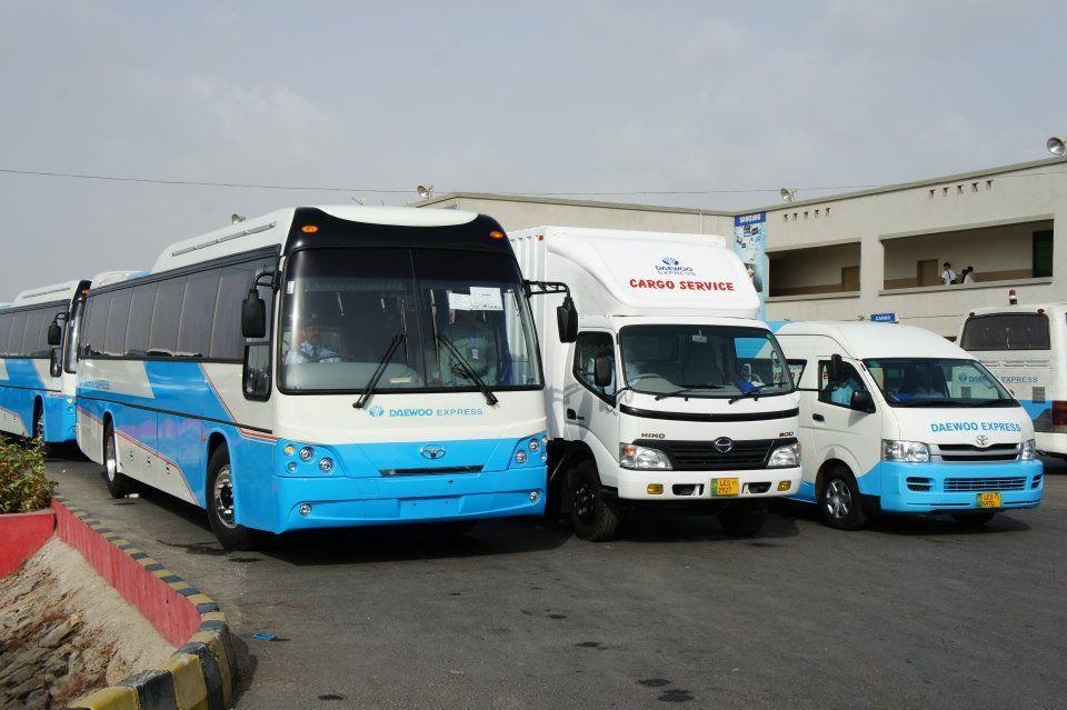 Daewoo Express | Visit Pak | Pinterest | Express bus, Cargo services