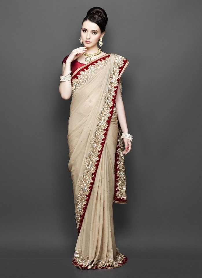 Pakistani and Indian Party Wear Sarees 20162017
