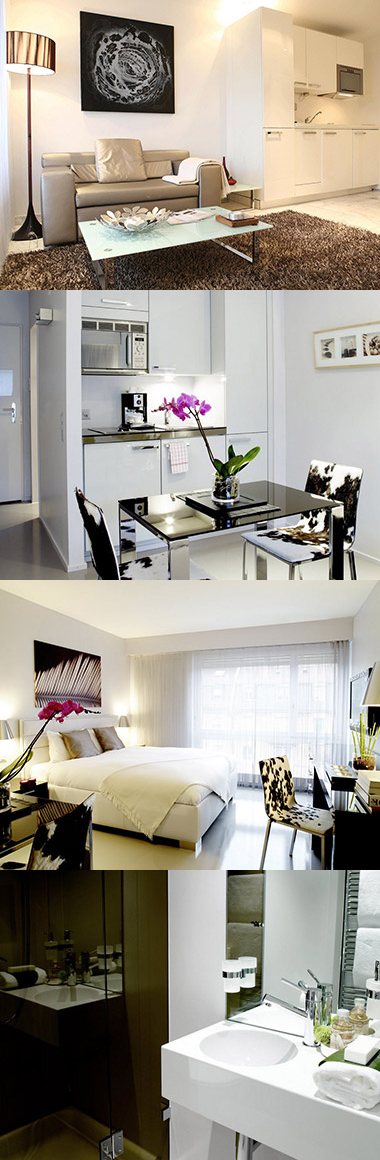 Binzm hlestr apartments provide corporate serviced accommodation in the district of oerlikon - Oerlikon swimming pool ...