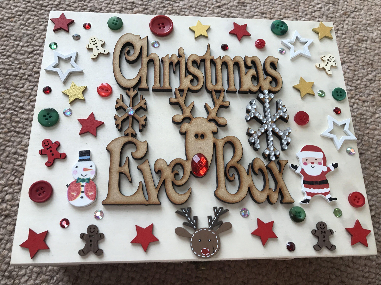 Christmas eve box by mermaidshellsnewquay on etsy https