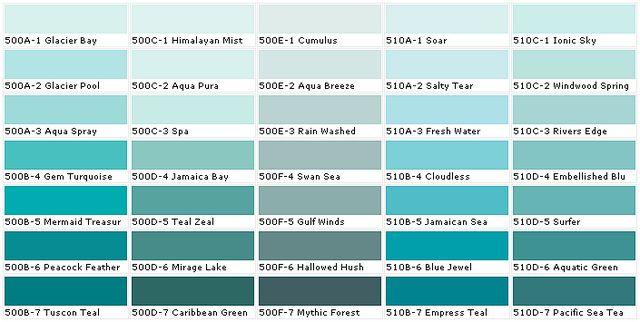 Sewscrappyfabric Behr Colors Behr Paint Colors Aqua Paint Colors