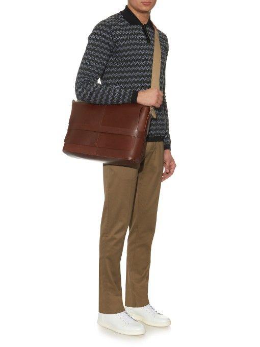 83ec89d3745 Barbican shoulder bag by Brooks England   Shop now at #MATCHESFASHION.COM