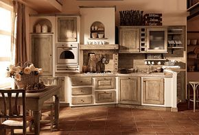 cucina legno grezzo - Arredamento Shabby   Ieana bacheca ...