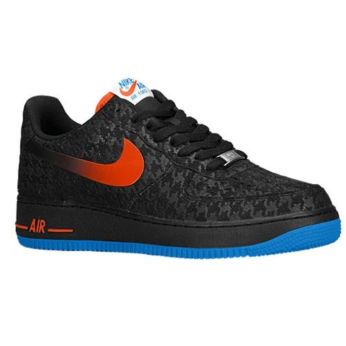 d08a50ad4c936 nike air force 1 low - mens  99.99 available 4-12-2014 Selected Style  Black  Team Orange Photo Blue