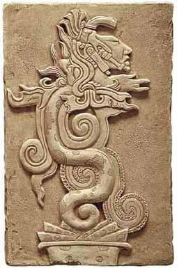 Mayan Vision Serpent, escort of the Dead...