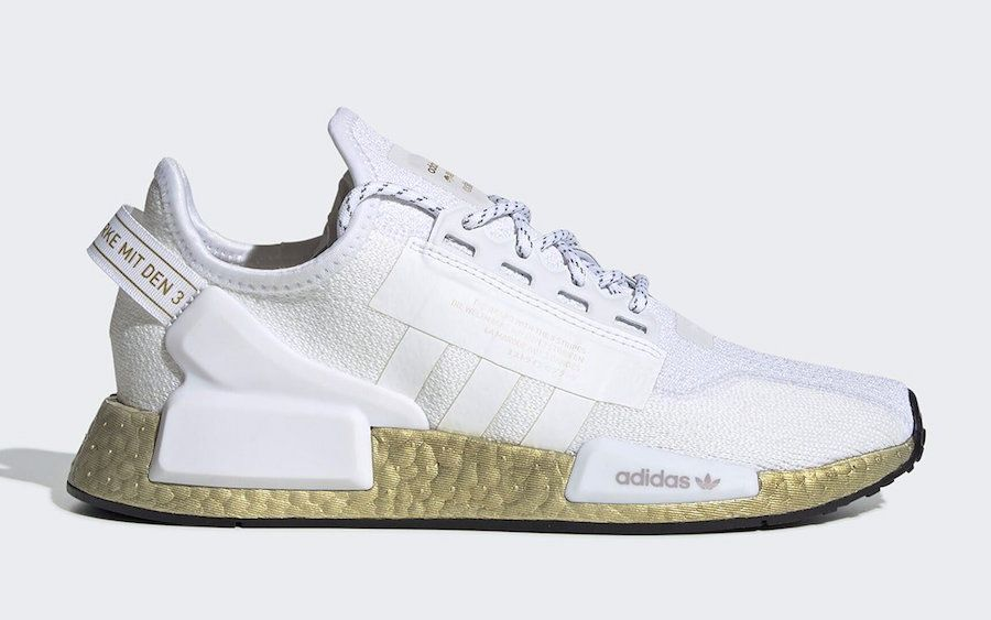 Adidas Nmd V2 White Gold Metallic Fw5450 Release Date Sbd