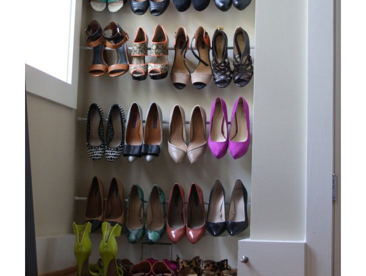 shoe organization ideas for small closets