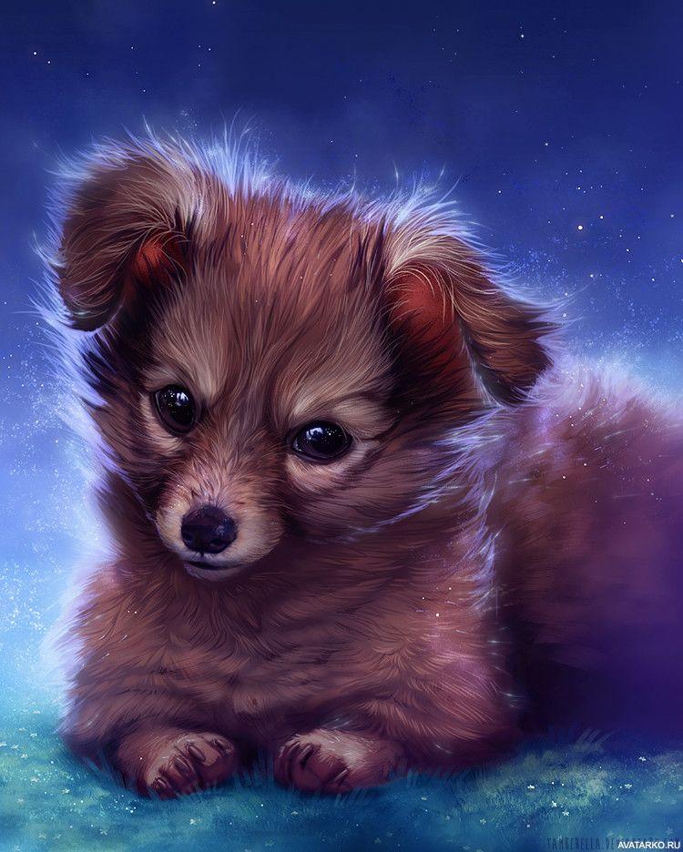 картинки щенки милые и красивые рисунки роспотребнадзоре назвали сроки