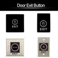 Dverové tlačidlo exit switch stlačením tlačidla spúšte číslo pre tlačidlo infračerveného senzora pre riadenie prístupu k systému dverí ...