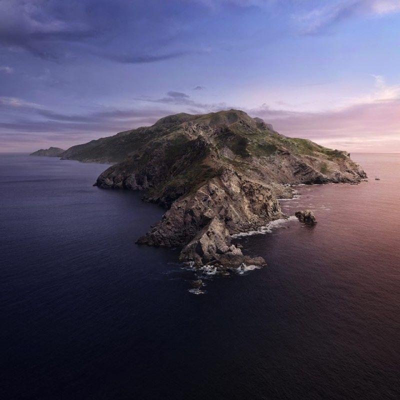 Wallpaper Mac OS Catalina / desktop Catalina island