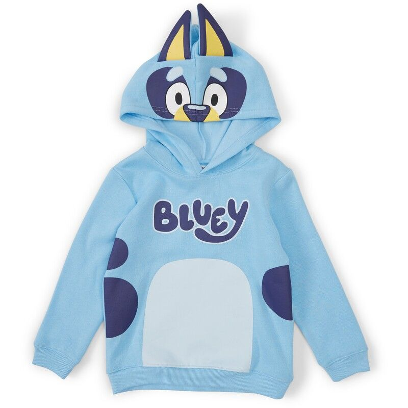 Bluey Hoodie Jumper boys size 7 Bookweek Costume BNWT New With Tags