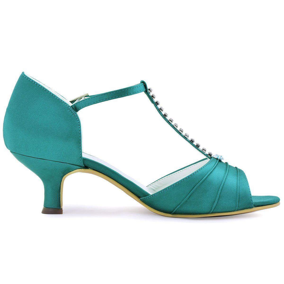 47++ Satin low wedding heels ideas in 2021