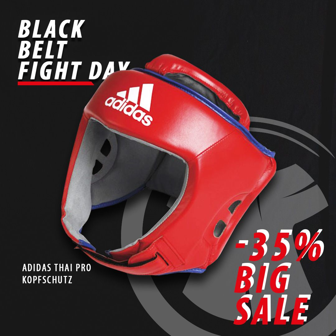 Tag 1 von unserer Black Belt Fight Day Aktion:⁠ ⁠ Der Adidas Thai Pro Kopfschutz aus echtem Leder - jetzt -35%, also statt 83,90€ nur mehr 54,54€ bis einschließlich 30.11. im Super-Sonder-Sale!⁠ ⁠ Bleibt am Laufenden, über unsere Social Media Kanäle. Instagram: fightersworld_global Facebook: fightersworld #martialarts #fighter #sports #kampfsport #kopfschutz #boxing #thaiboxing #kickboxing #boxen #workout #training #sale #black #prozente