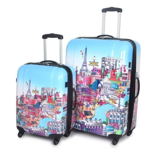 Teen Girl Luggage Amazon.com: Paris City Collection Luggage - Set ...