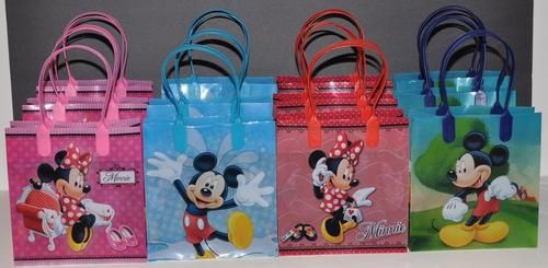 12PC Disney Mickey /& Minnie Mouse Birthday Party Favor Goody Candy Loot Gift Bag