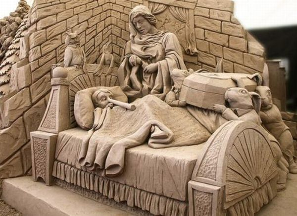 Saw some truly breathtaking sand sculptures during a competition while in South Padre Island