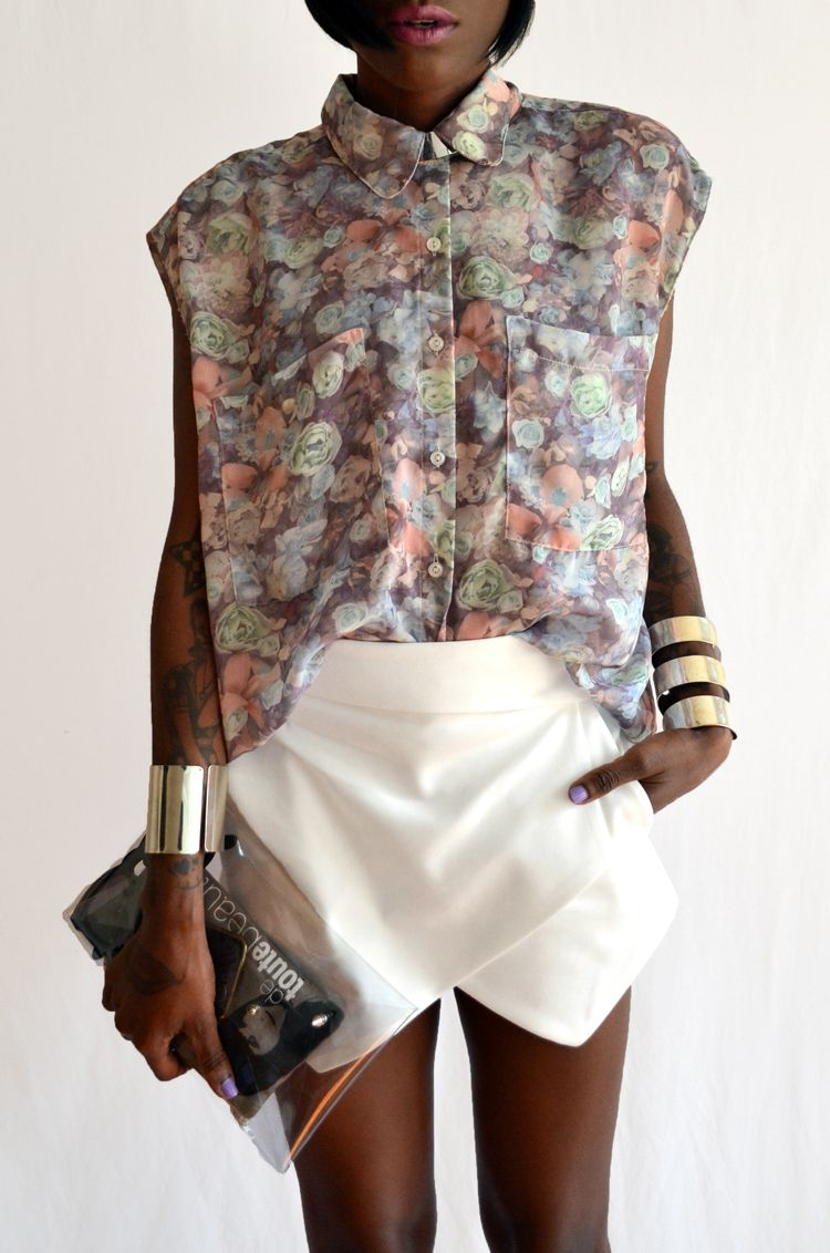 edgy floral.