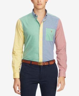 5704617dec Polo Ralph Lauren Men s Classic Fit Fun Shirt - Fun Shirt L