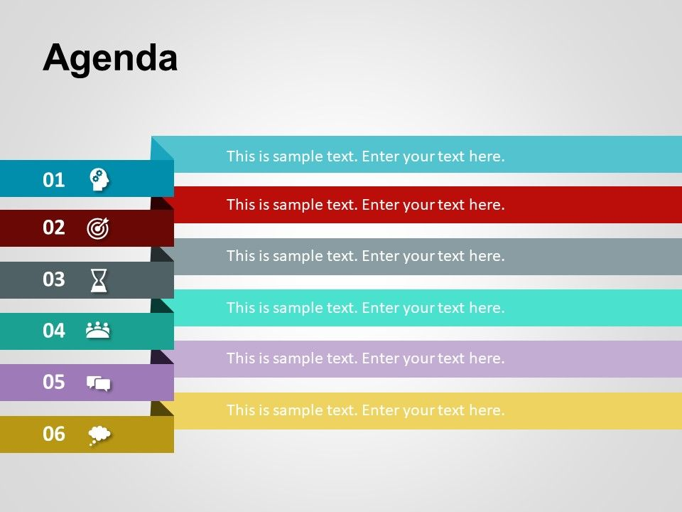 Use Agenda PowerPoint Template to showcase your meeting