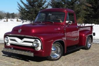 1954 Ford F100 Pickup Truck Looking Great Classic Beauty